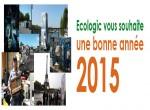 Ecologic vous souhaite une bonne année 2015