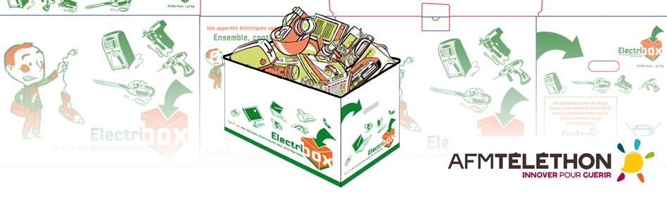 recyclage en entreprise et recherche m dicale les effets positifs de l op ration ecologic afm. Black Bedroom Furniture Sets. Home Design Ideas