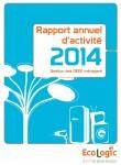 Rapport d'activité 2014 - DEEE ménagers