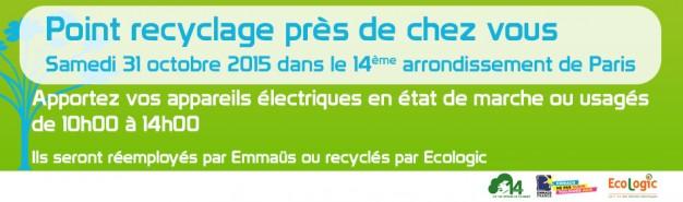 Ecologic et emma s collectent les appareils lectriques usag s des parisiens - Collecte appareils electroniques ...