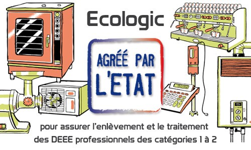 ecologic agr pour la gestion des deee issus des cat gories 1 et 2 des entreprises. Black Bedroom Furniture Sets. Home Design Ideas